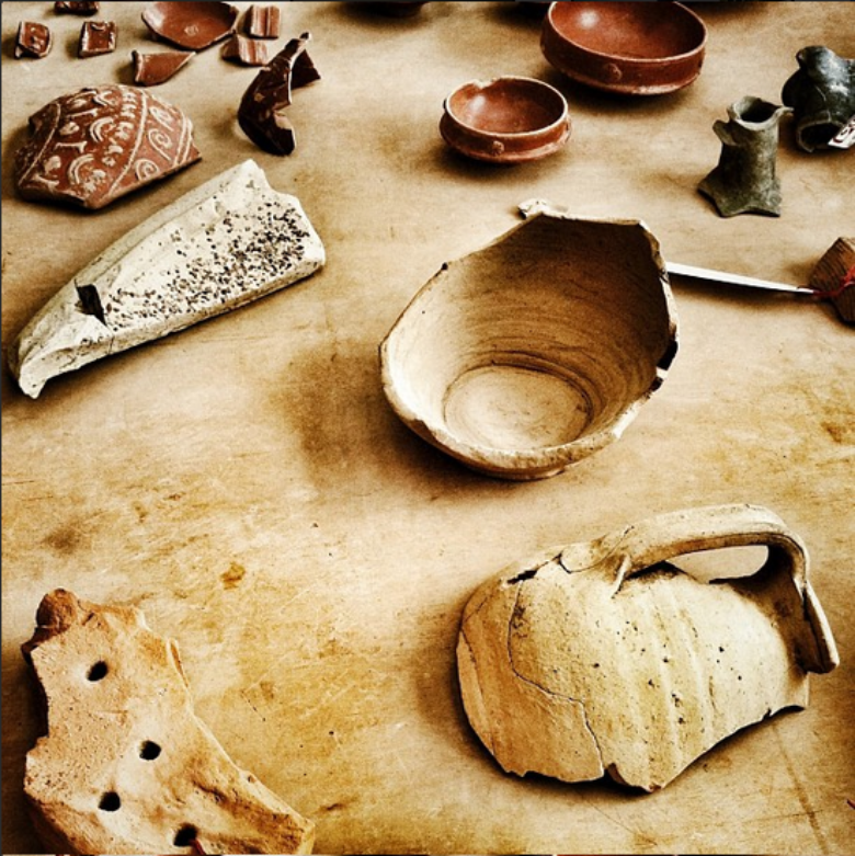 Roman evidences in Massaciuccoli