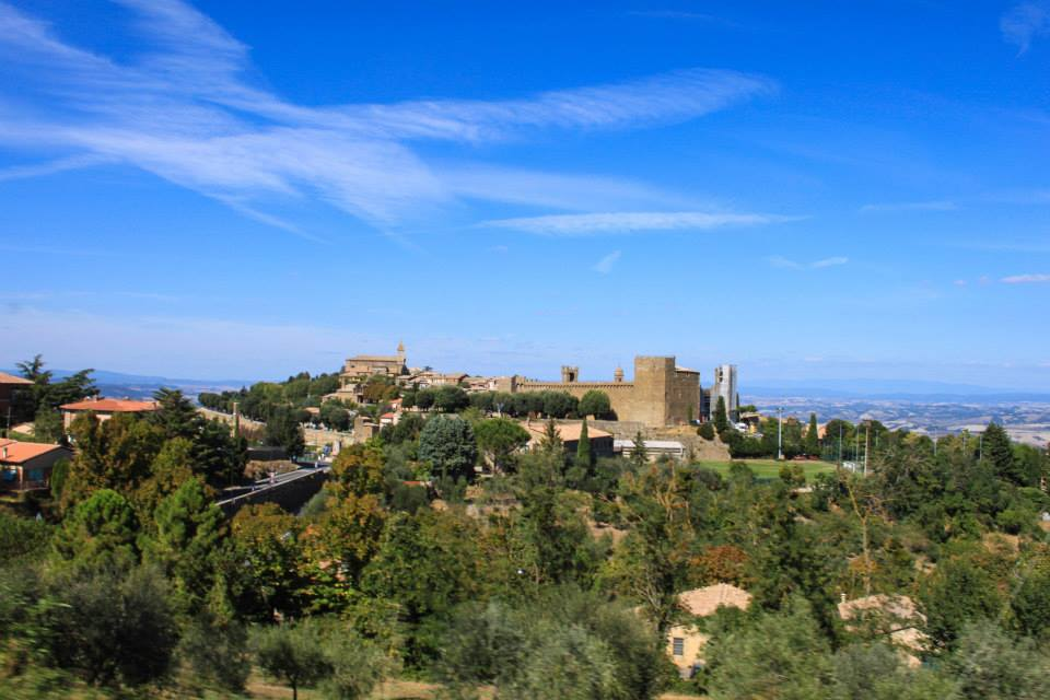 A view on Montalcino