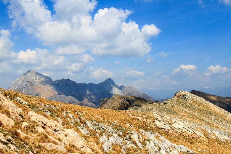 A view on the Apuan Alps [Photo Credits: Serena Puosi]