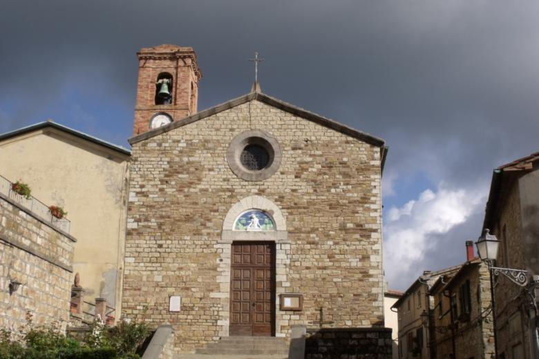 The church of Sant'Andrea