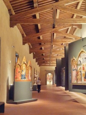 A glimpse of the Innocenti museum's Art route
