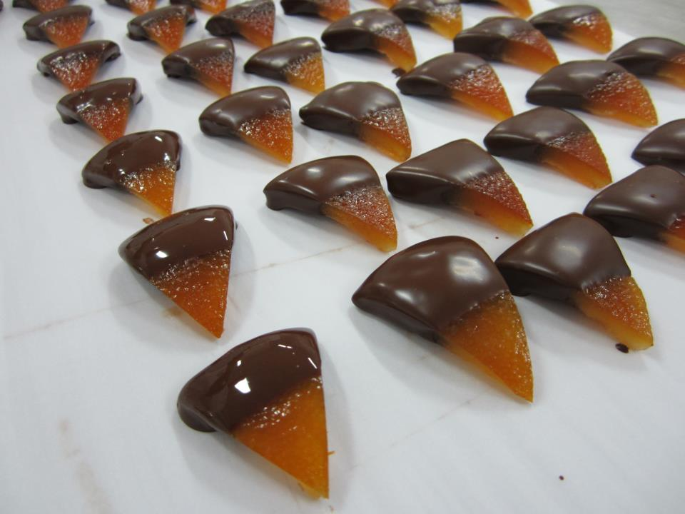 Orange and chocolate [Photo credits: Cecilia Iacobelli]