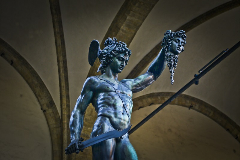 [Photo Credits: Perseus and Medusa by Matt Freire]