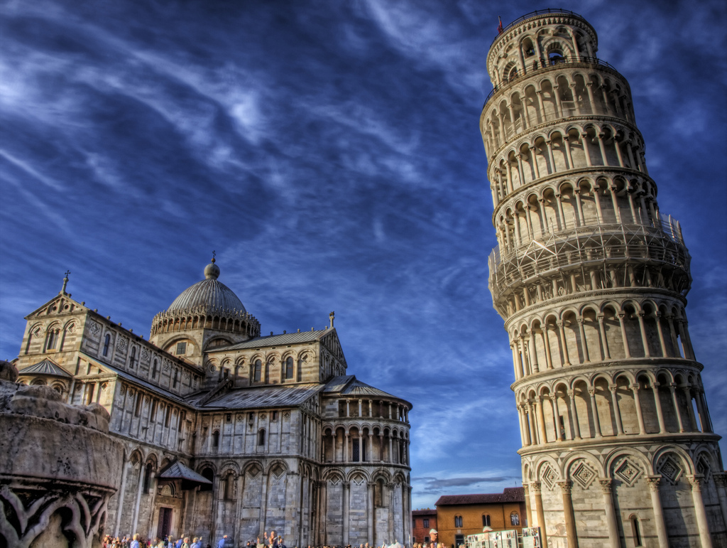 Leaning tower of Pisa [Photo Credits: Neil Howard]