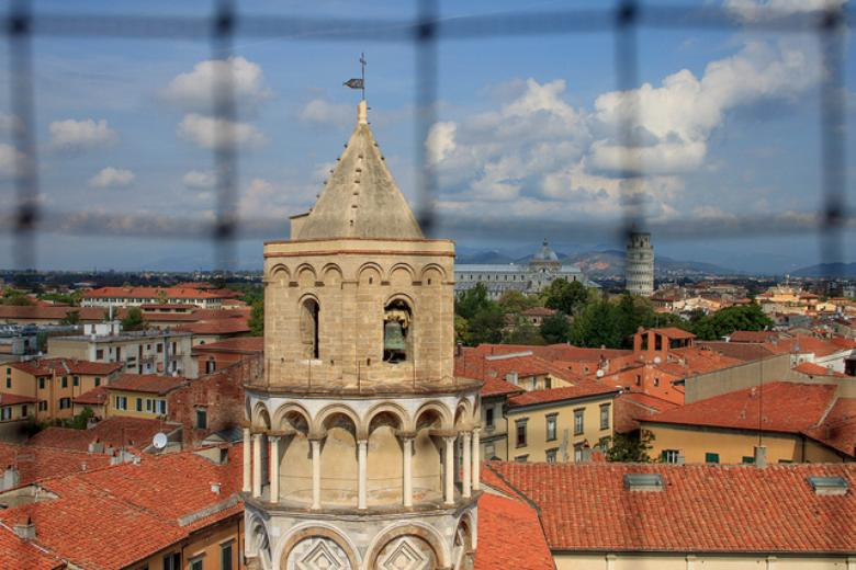 View from the top of National Museum of the Palazzo Reale