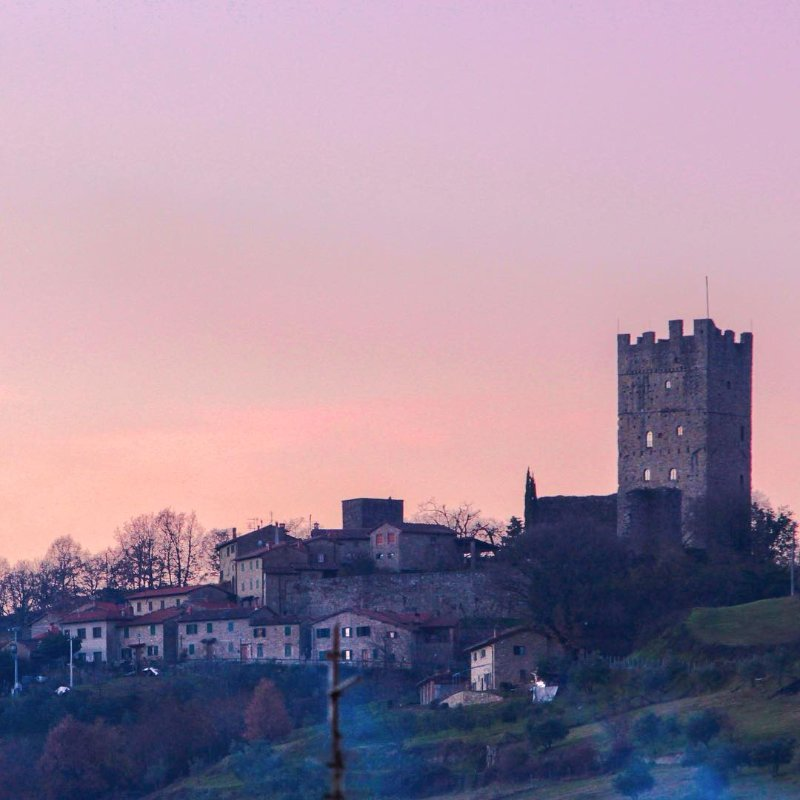 The Castle of Porciano, part of the Casentino Ecomuseum
