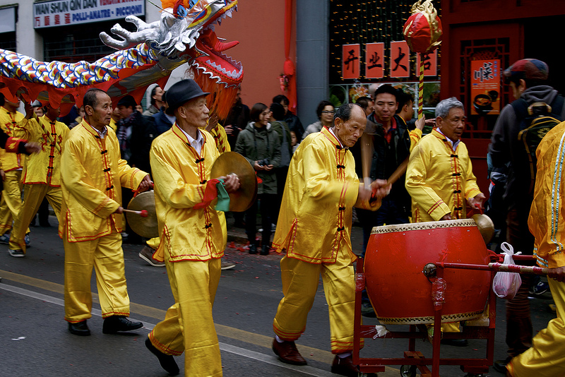 The Chinese New Year in Prato