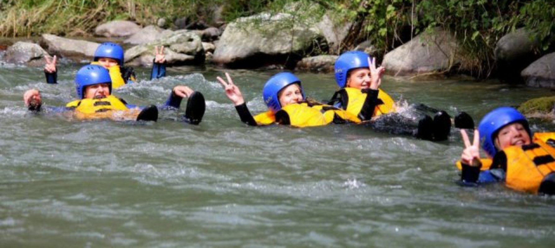 Rafting in Tuscany