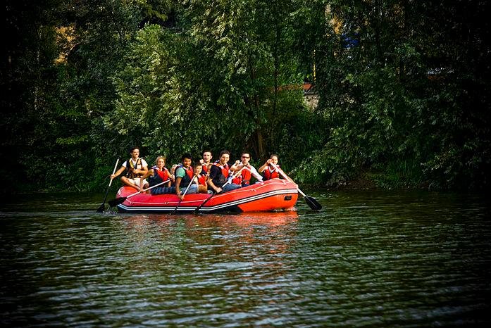 Rafting on Arno River [Photo Credits: ACCORD Innovative Tourist Solutions]