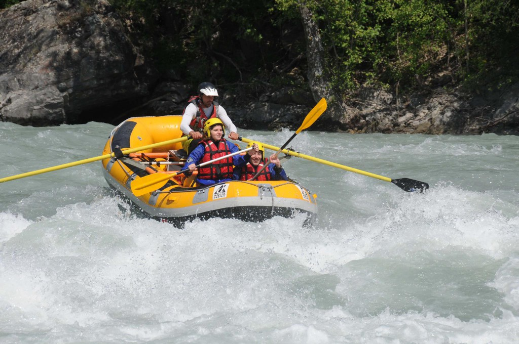 Rafting in Italy