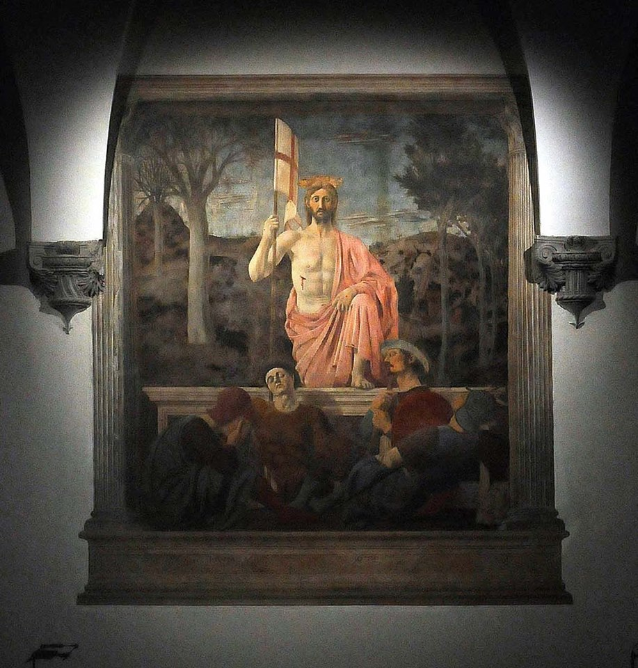 Resurrection by Piero della Francesca [Photo Credits: Ernesto De Matteis]