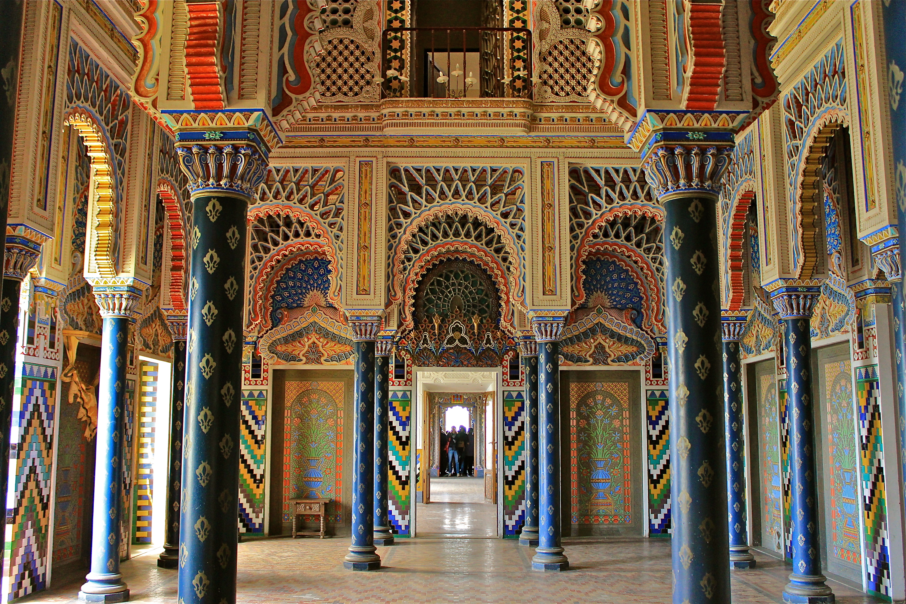 Sammezzano Castle [Photo Credits: Kinzica Sorrenti - Tuscany Social Media Team]