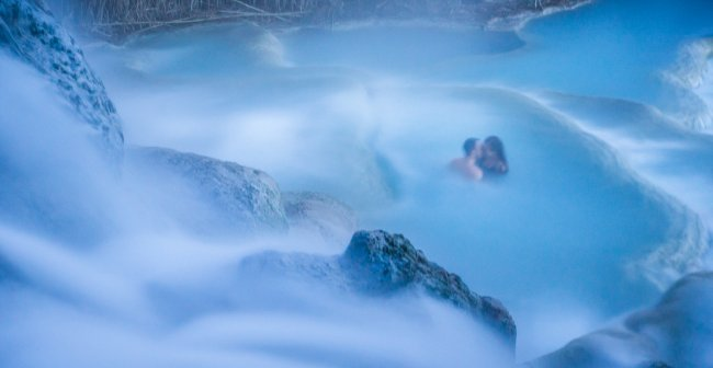Hot Springs In Tuscany Saturnia