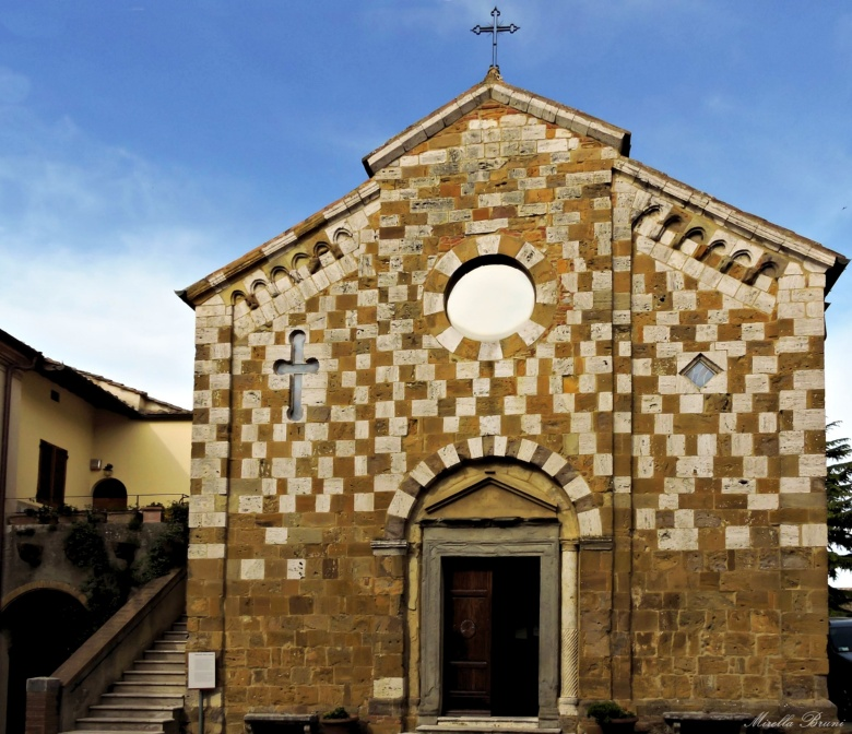 Santi Pietro e Andrea church in Trequanda