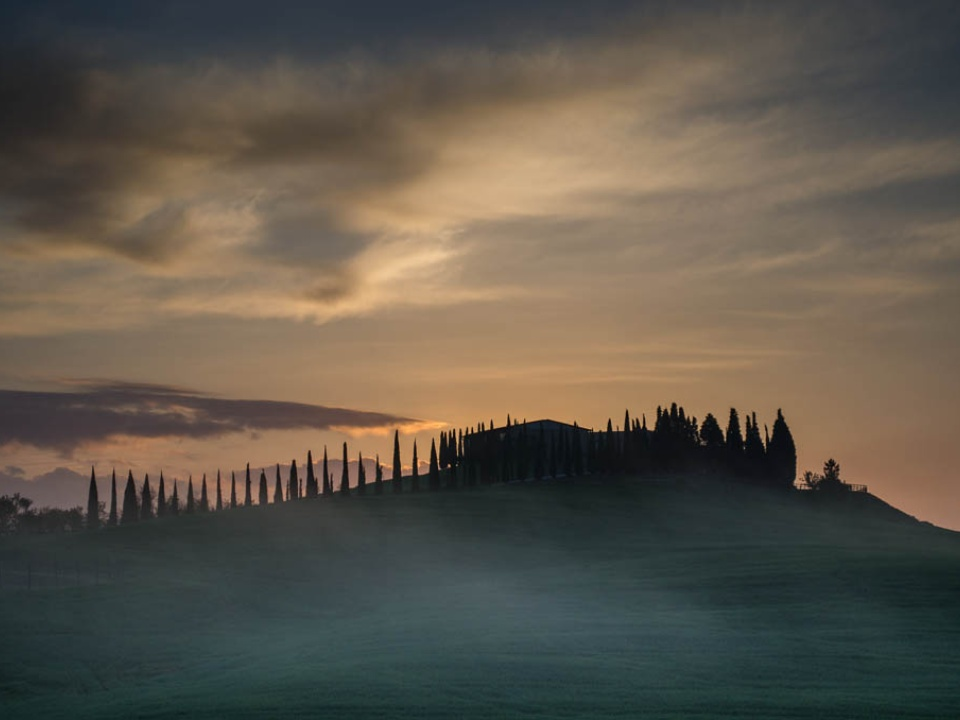 Views of Val d'Orcia
