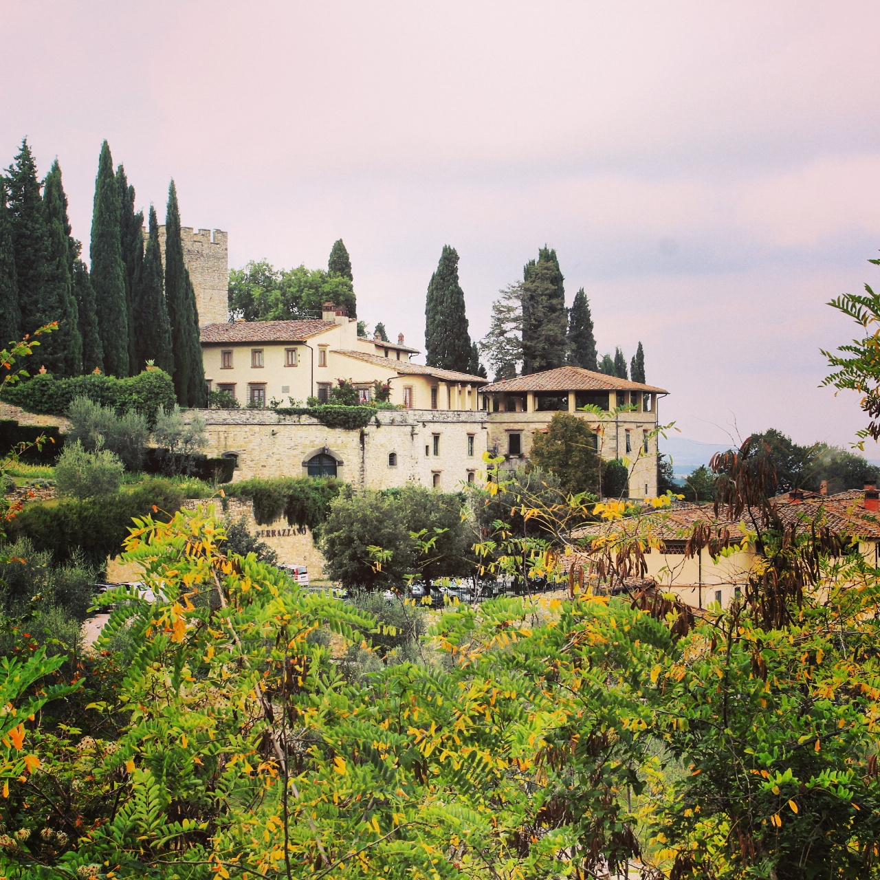 On the Chianti Classico road: Castello di Verrazzano