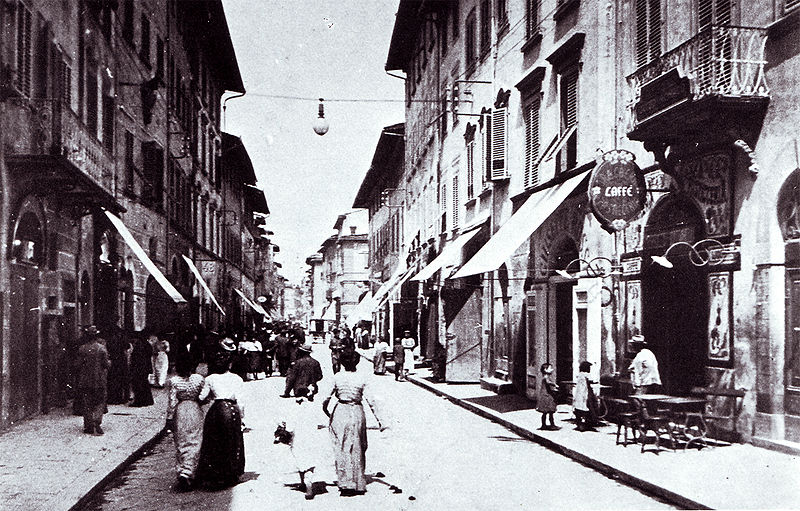 Via Roma - Montevarchi [Photo credits: Vestri Fund donated to Comune di Montevarchi]