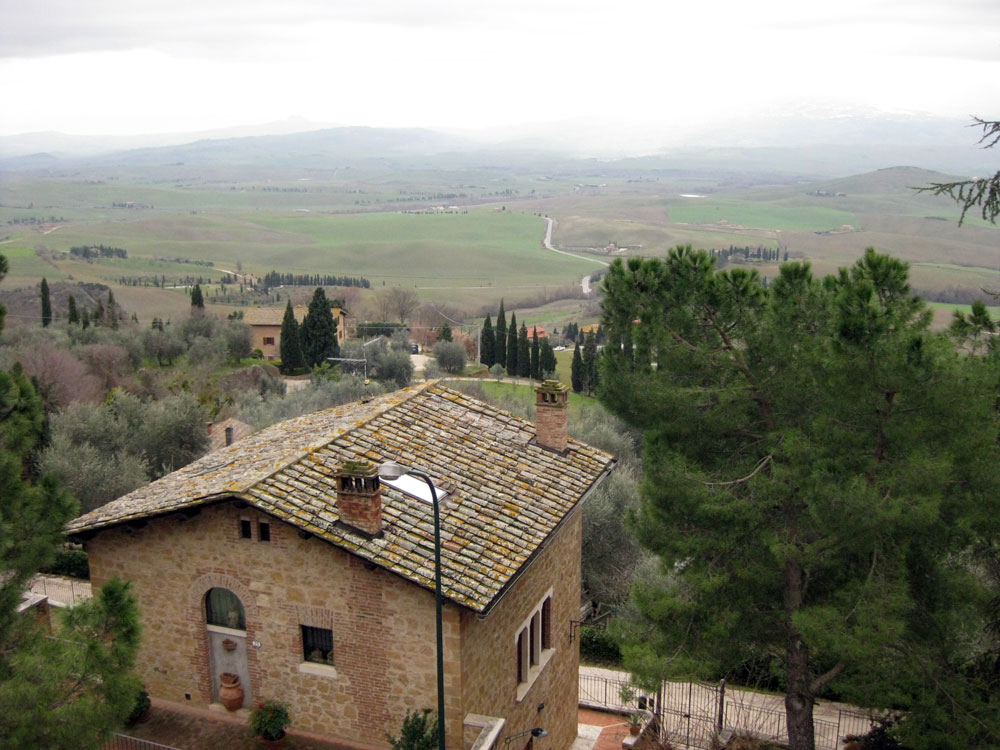 The view from Pienza [Photo credits: Around Tuscany]
