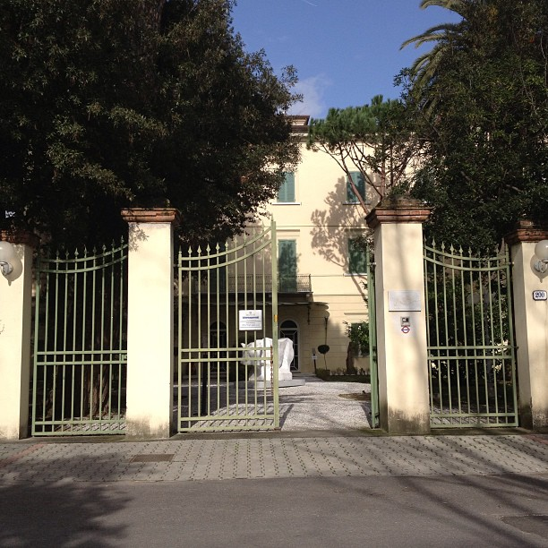Villa Bertelli [Photo Credits: Vittoria Apuana on Instagram]