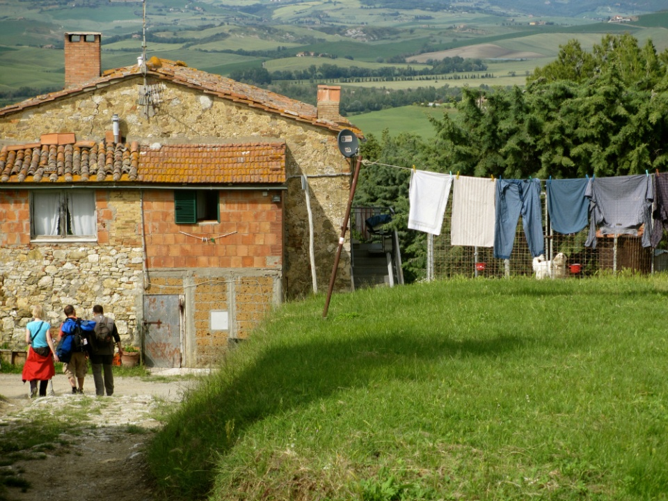 Unexpected encounters on the Francigena