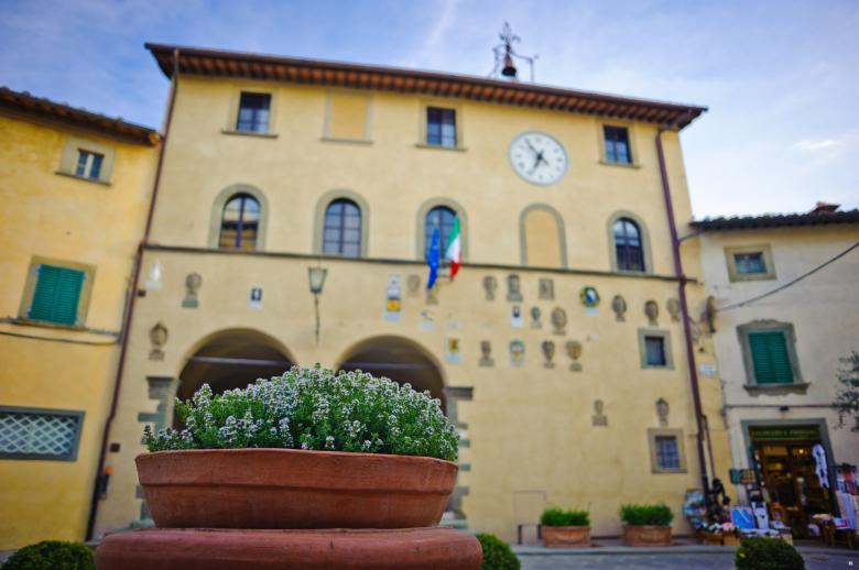 Town Hall in Radda in Chianti