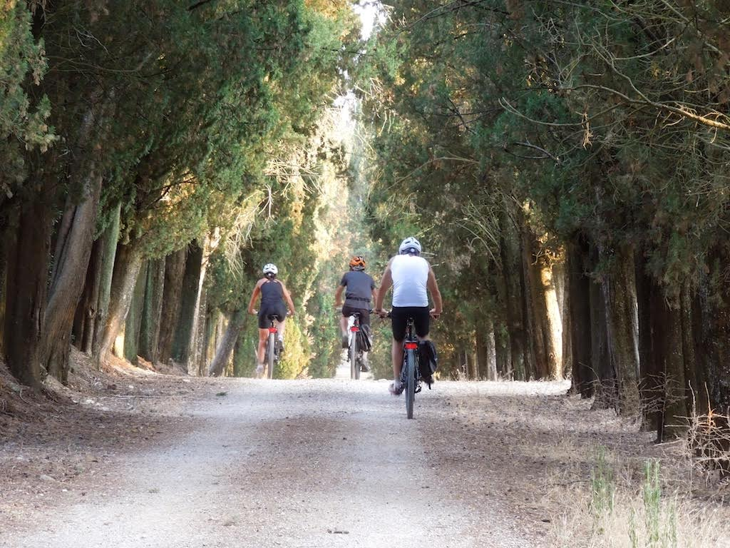 A beautiful path [Photo Credits: Toscana by Bike]