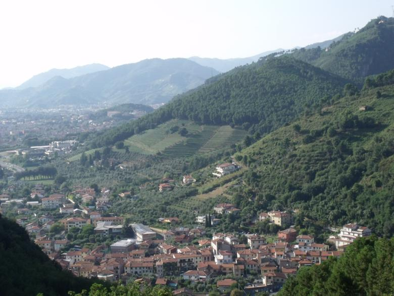 Montignoso, panorama