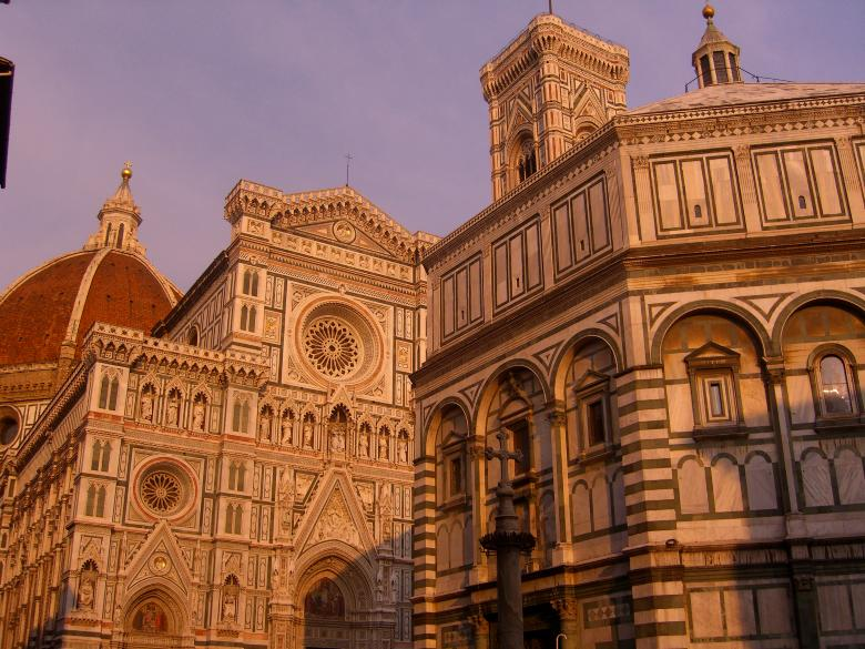 A view of Piazza del Duomo, Florence