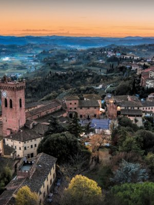 Sunset in San Miniato