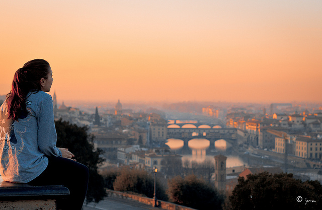 Firenze seen from Piazzale Michelangelo [Photo Credits: Giancarlo Zuccarone]
