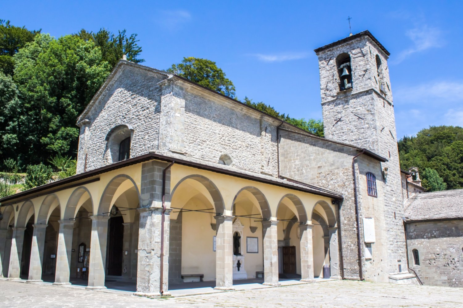 "The Franciscan monastery of ""La Verna"""