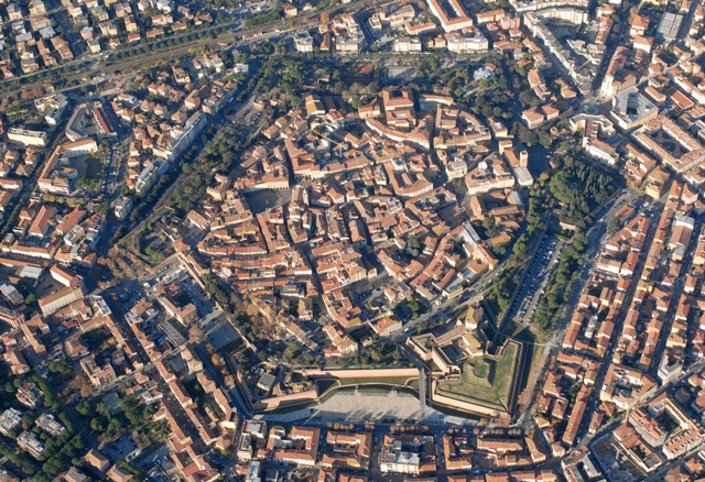 Grosseto seen from above [Photo Credits: Turismo Grosseto]