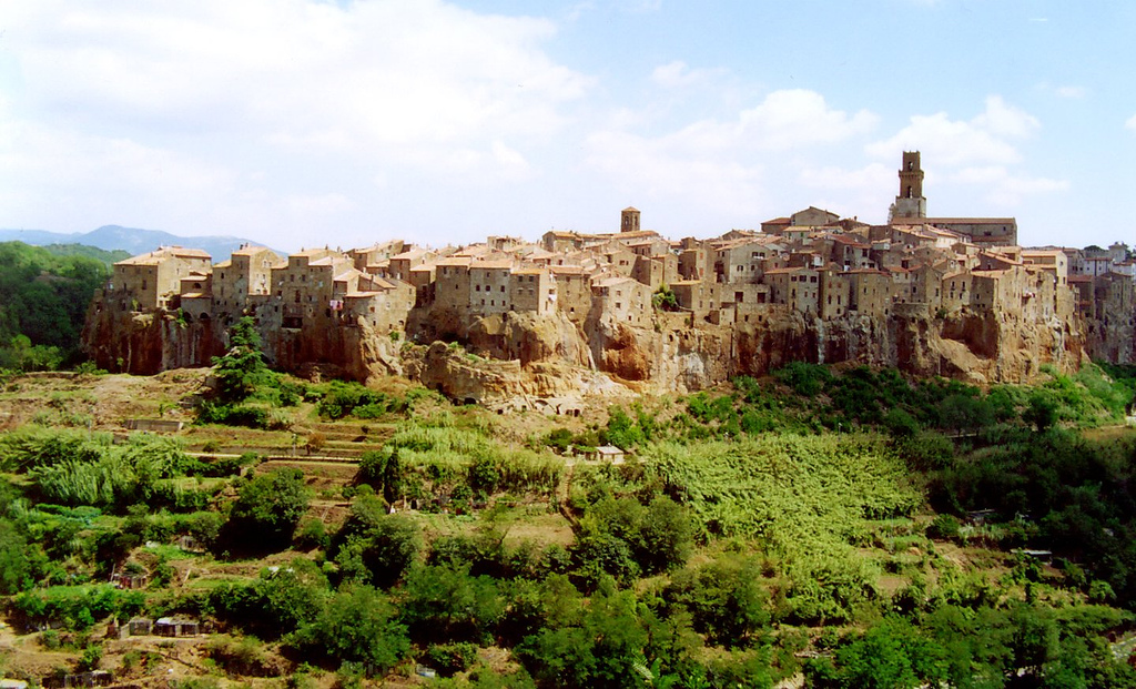 A view of Pitigliano [Photo Credits: Thomas Mues]