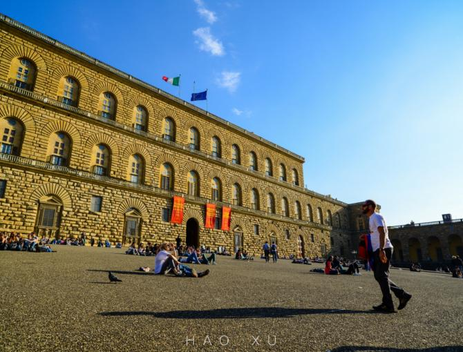 Pitti Palace in Florence