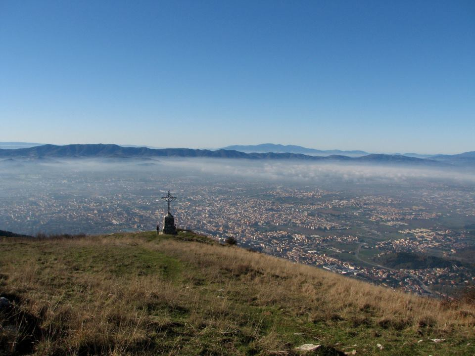 Prato from the top of Croce della Retaia [Photo Credits: Visit Prato]