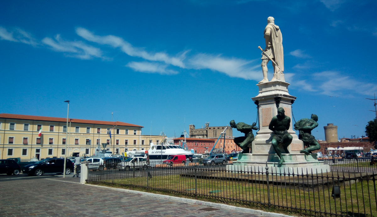 Statue of the Four Moors in Livorno