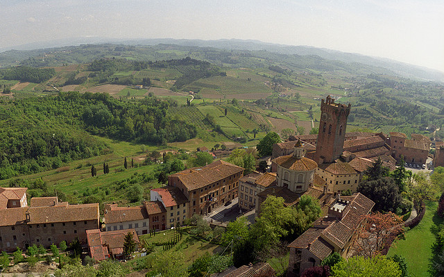 San Miniato from the top [Photo Credits: ezioman]