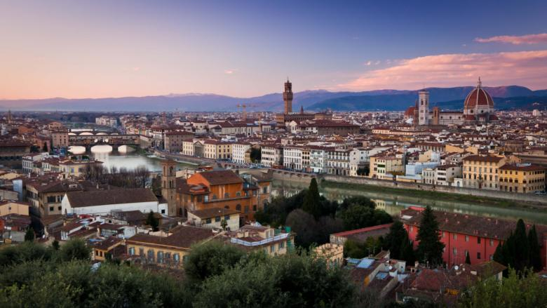 Sunset from Piazzale Michelangelo