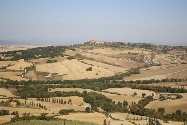 Val d'Orcia from Montichiello