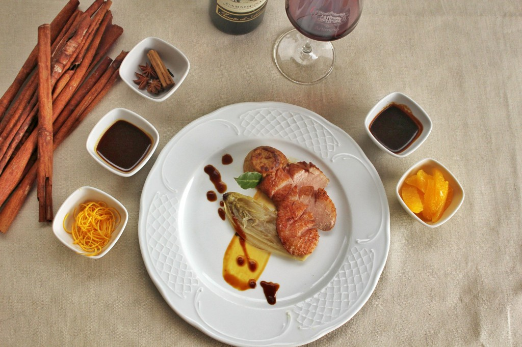 Duck a l'orange by Michela Bottasso, Biagio Pignatta restaurant in Artimino