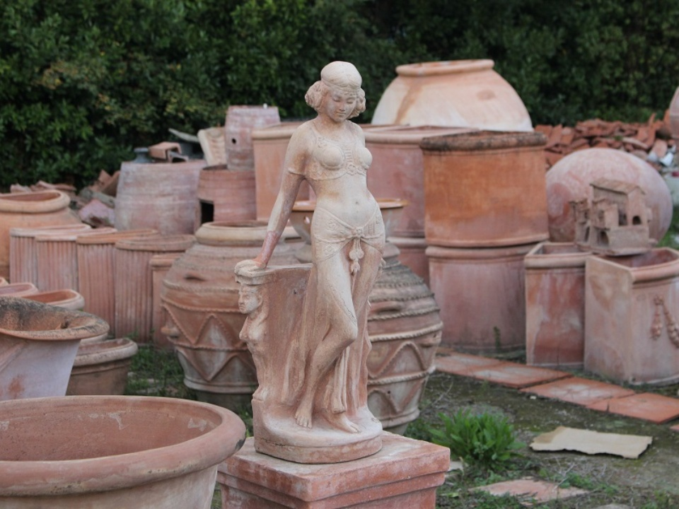 Terracotta products from Impruneta