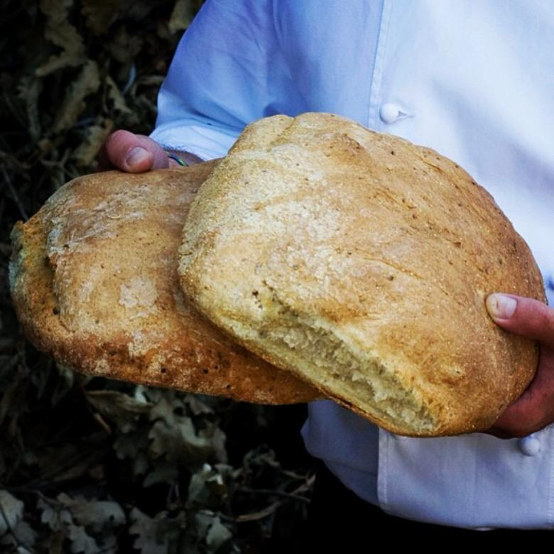 Potato bread from Garfagnana