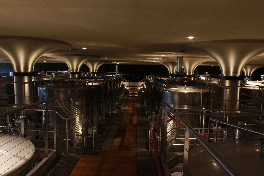 Winery at Val delle Rose