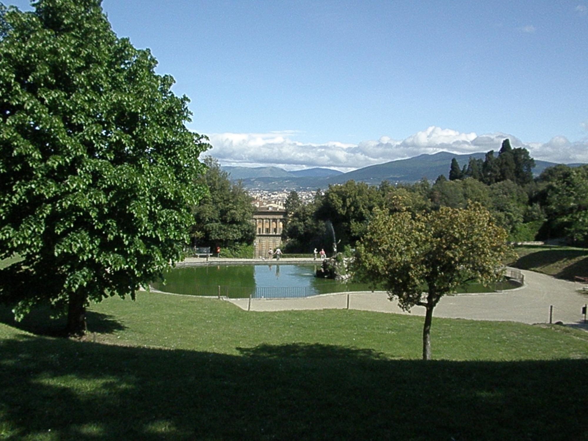 Boboli Gardens the green heart of Florence