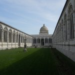 Camposanto Monumentale courtyard