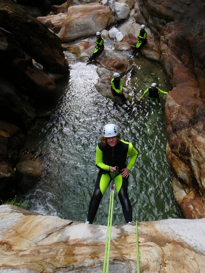Canyoning in der Toskana