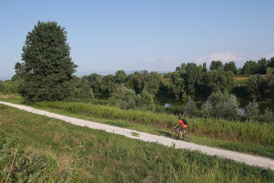 From Florence to Parco dei Renai by bike