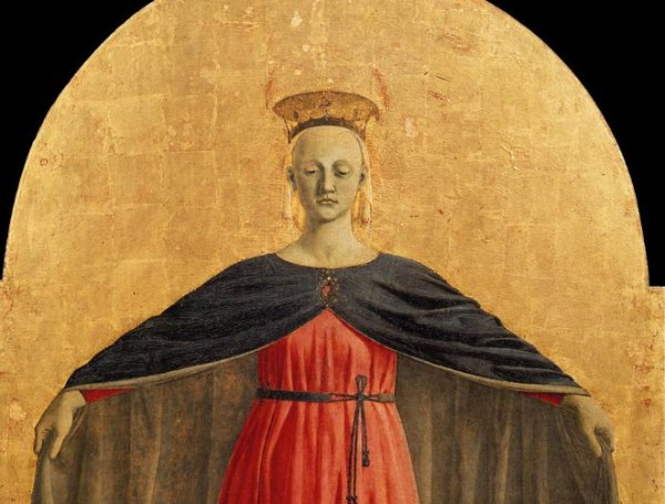 The Polyptych of Mercy by Piero della Francesca