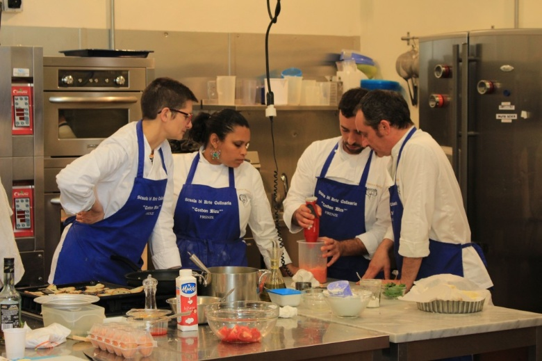 Cooking Class at Cordon Bleu School