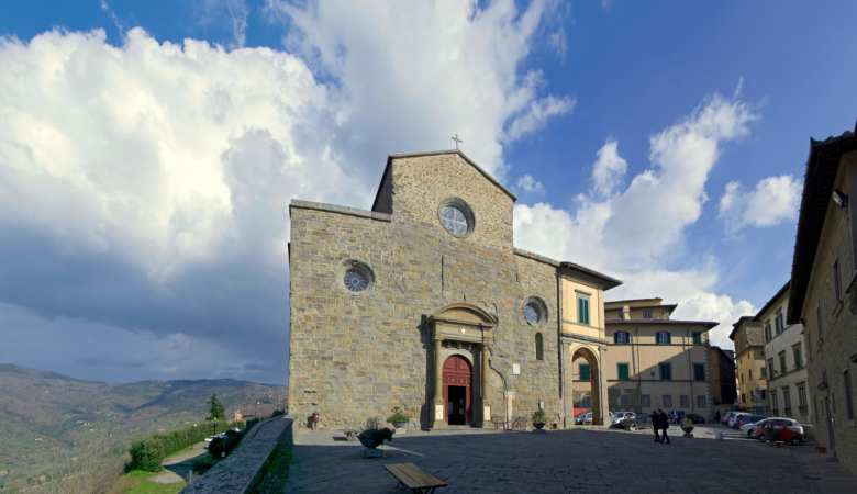 Cathedral in Cortona